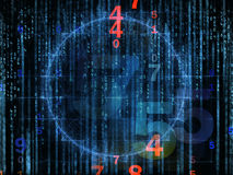 Diversity of Numbers Royalty Free Stock Images
