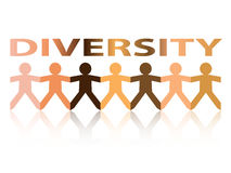 Diversity Paper People Royalty Free Stock Photography