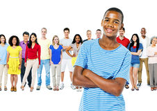 Diversity People Community Crowed Friendship Concept Stock Photography