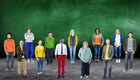 Diversity People Community Standing Concept Royalty Free Stock Image