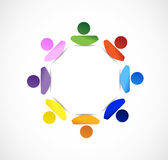 Diversity people concept illustration Royalty Free Stock Photos