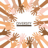 Diversity people design Royalty Free Stock Photography