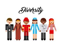 Diversity people design Royalty Free Stock Image