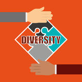 Diversity people design Stock Image