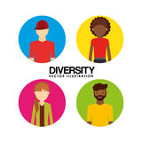 Diversity people design Royalty Free Stock Photo
