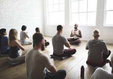Diversity People Exercise Class Relax Concept. Diversity People Exercise Class Relax stock photos