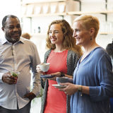 Diversity People Party Brunch Cafe Concept Royalty Free Stock Image