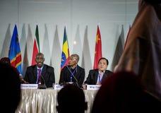 Diversity People Represent International Conference Partnership Concept Stock Image