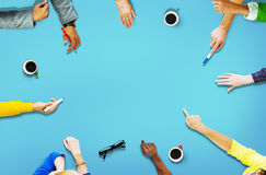 Diversity People Sharing Reaching Connecting Together Concept Stock Image