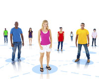 Diversity of People and Social Networking Stock Images