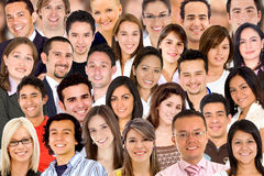 Diversity people standing Royalty Free Stock Photo