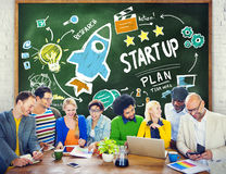 Diversity People Start Up Business Success Learning Concept Stock Photo