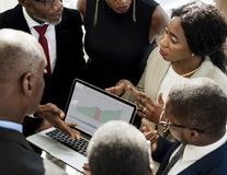 Diversity People Talk International Conference Partnership stock images