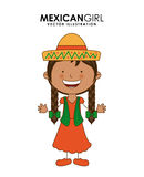 Diversity of races. Over white  background vector illustration Stock Images