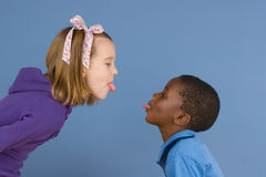 Diversity Series - The Argument Stock Photography