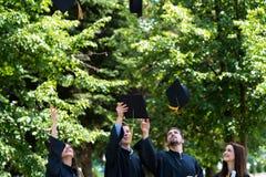 Diversity Students Graduation Success Celebration ConceptGradu stock photos