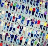 Diversity Success Celebration Happiness Community Crowd Concept Stock Photos