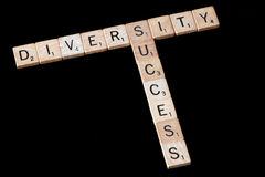 Diversity and success Stock Image
