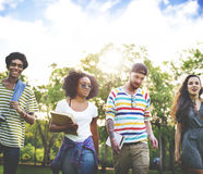 Diversity Teenagers Friends Friendship Team Concept Royalty Free Stock Photography