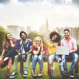 Diversity Teenagers Friends Friendship Team Concept Royalty Free Stock Images