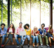 Diversity Teenagers Friends Friendship Team Concept Stock Image
