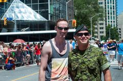 Diversity in Toronto Pride Parade 2013 Stock Images