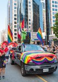 Diversity in Toronto Pride Parade 2013 Royalty Free Stock Images