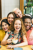 Diversity Women Socialize Unity Together Concept Royalty Free Stock Photography