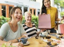 Diversity Women Socialize Unity Together Concept. Diversity Women Socialize Unity Together Royalty Free Stock Image