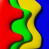 Diverso arco iris del tono Fotos de archivo libres de regalías