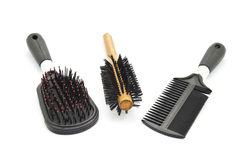 Diverso cepillo para el pelo Imagen de archivo