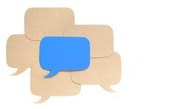 Diverso concepto de la opinión Imagen de archivo libre de regalías