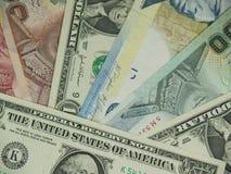 Diverso dinero foto de archivo libre de regalías