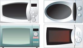 Diverso horno microondas Foto de archivo