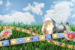 Diverso LED Foto de archivo