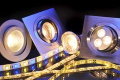 Diverso LED Foto de archivo libre de regalías