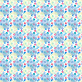Diverso modelo de las formas de los círculos coloridos brillantes transparentes maravillosos blandos artísticos hermosos abstract Ilustración del Vector