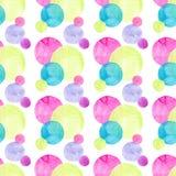 Diverso modelo de las formas de los círculos coloridos brillantes transparentes maravillosos blandos artísticos hermosos abstract Fotos de archivo libres de regalías