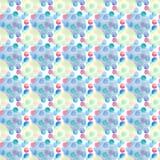 Diverso modelo de las formas de los círculos coloridos brillantes transparentes maravillosos blandos artísticos hermosos abstract Libre Illustration