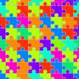 Diverso rompecabezas de los tamaños Ilustración del Vector