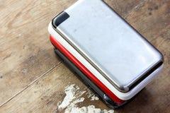 Diverso teléfono móvil Fotografía de archivo libre de regalías