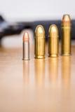Diverso tipo de balas fotografía de archivo