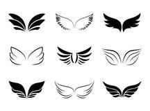 Diverso Wing Designs Foto de archivo libre de regalías