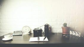 Diversos accesorios de la oficina Fotografía de archivo
