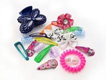 Diversos accesorios del pelo Imagen de archivo