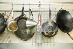 Diversos accesorios para la preparación de la comida Imagenes de archivo