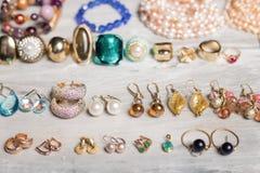 Diversos accesorios para las mujeres foto de archivo