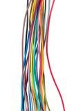 Diversos alambres coloreados Fotos de archivo