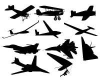 Diversos aviones Fotografía de archivo libre de regalías
