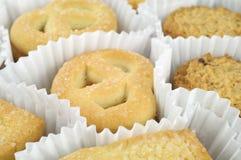 Diversos bolos no fim do Livro Branco acima Fotos de Stock Royalty Free